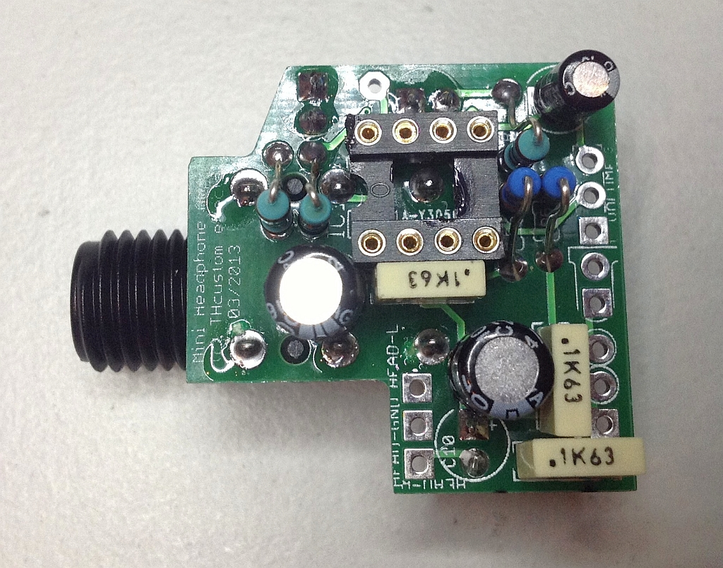 Headphone Amplifier Diy Th Custom Effects Circuit And Explanation Electronic Circuits Stereo Simulation V11 Pcb