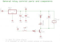 Switching Relay TrueBypass Circuit Overview TH Custom Effects - Dpdt Relay True Bypass