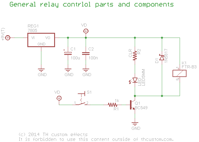 switching relay true bypass \u2013 circuit overview \u2013 th custom effectsrelay_general_switch