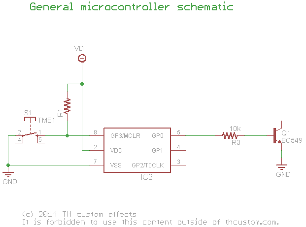 Switching Relay TrueBypass Circuits using a microcontroller