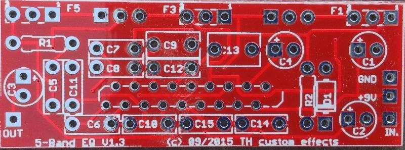 5-Band-EQ – PCB